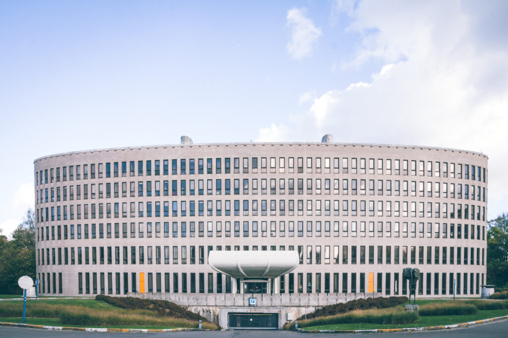 rectoraat vub elsene architectuur foto ©Sacha Jennis