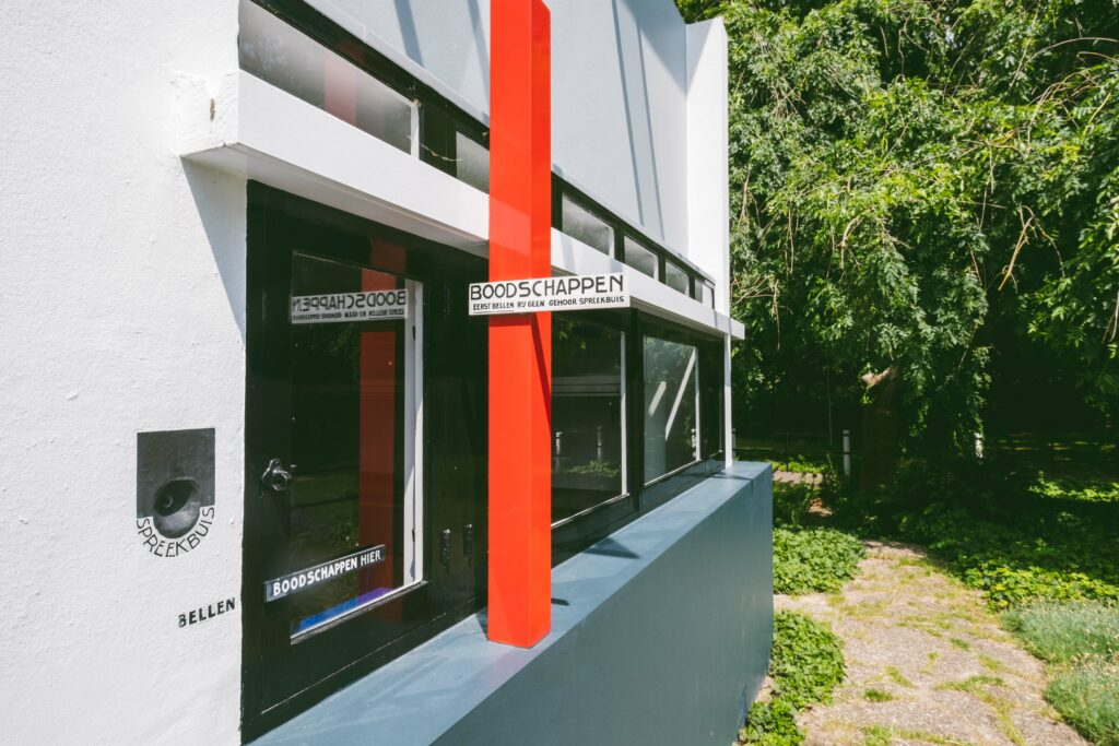 Rietveld Schröderhuis Utrecht - de Stijl foto ©Sacha Jennis