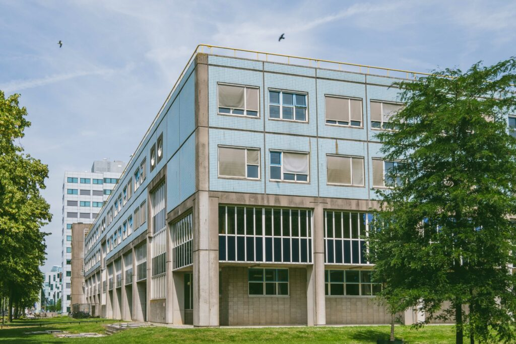 campus universiteitswijk utrecht foto ©Sacha Jennis