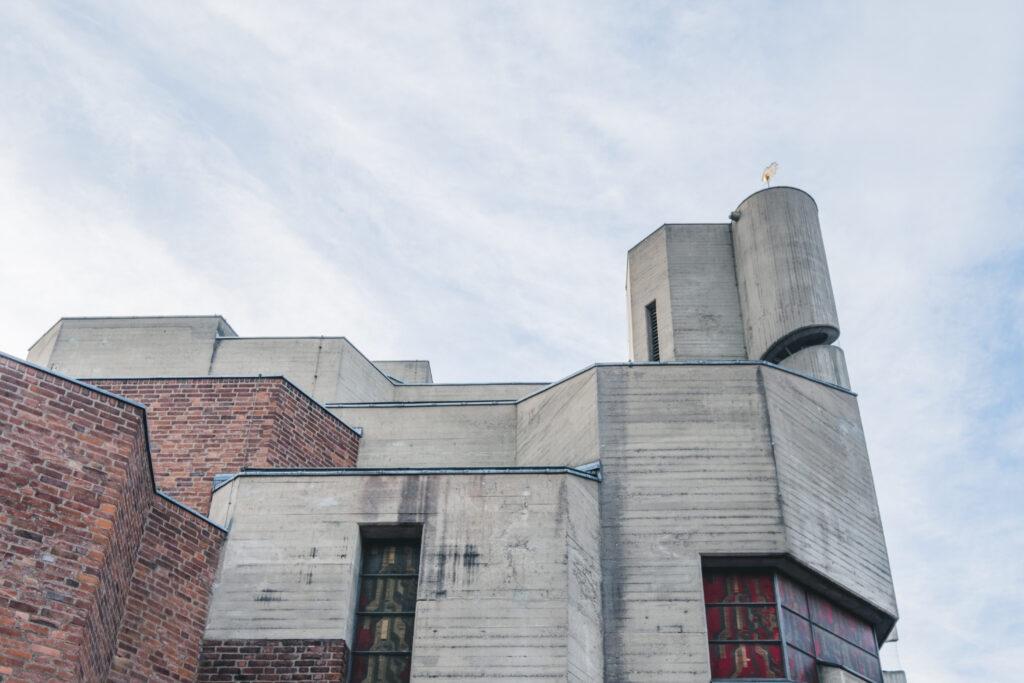 church cologne brutalist modernist architectur ©Sacha Jennis