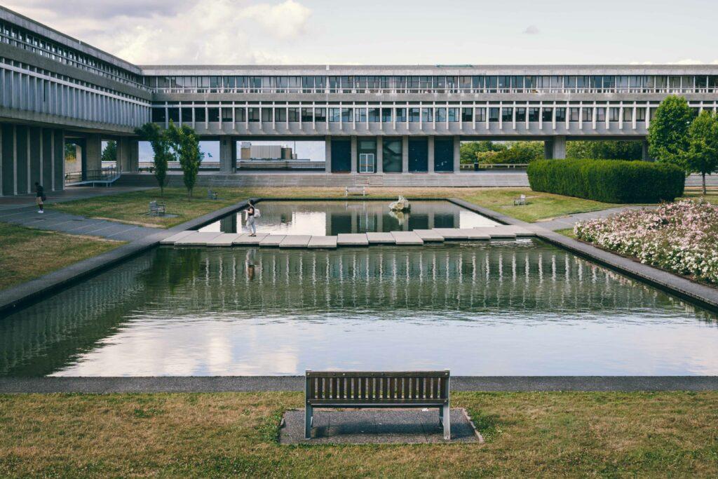 Simon Fraser University architecture photography Sacha Jennis