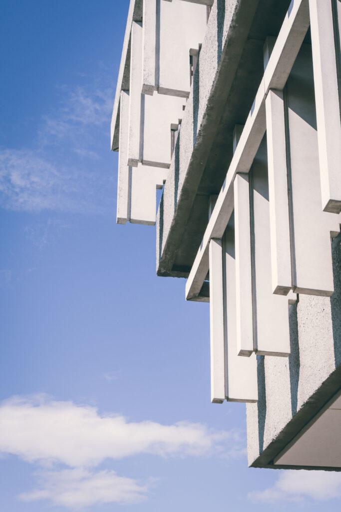 detail of Simon Fraser University Burnaby