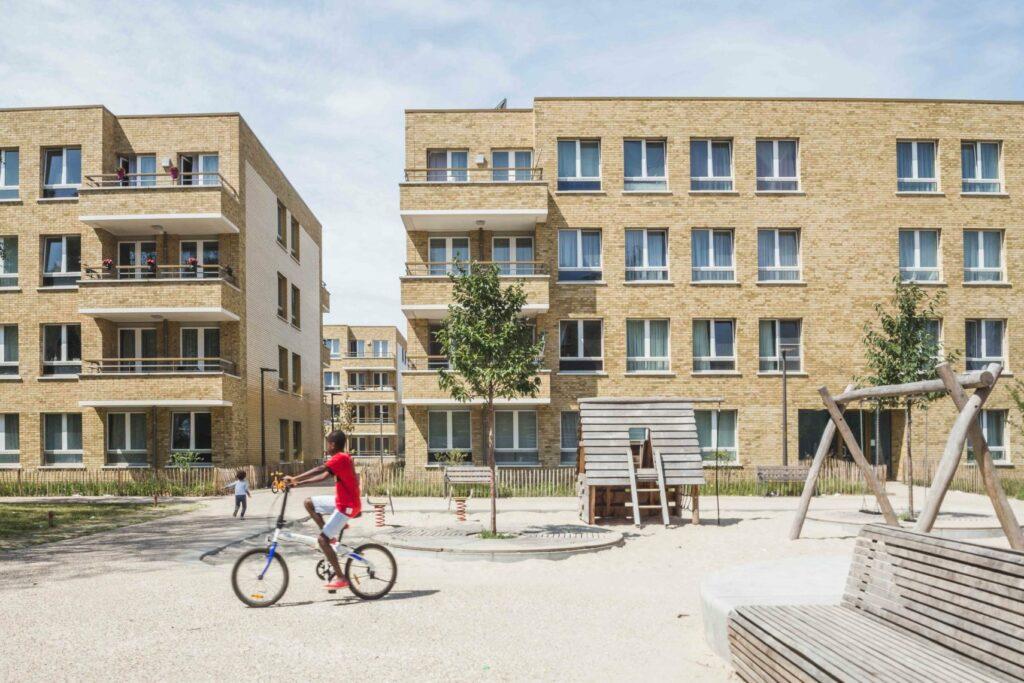 woonhaven antwerpen sociale woning project luchtbal